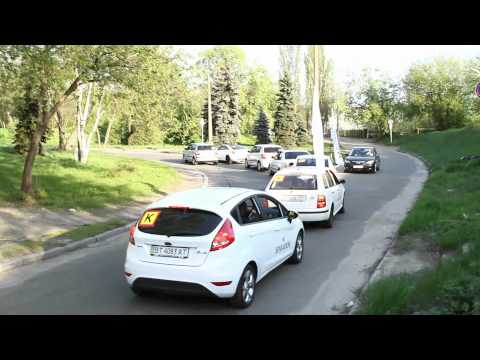 SENSATION автопробег, Киев 2012