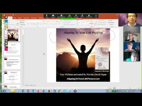 Webinar Aligning To Your Life Purpose 7 October 2016