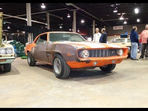 1969 Chevrolet Camaro Z/28 Barn Find In Orange & 302 Engine Sound - My Car Story With Lou Costabile