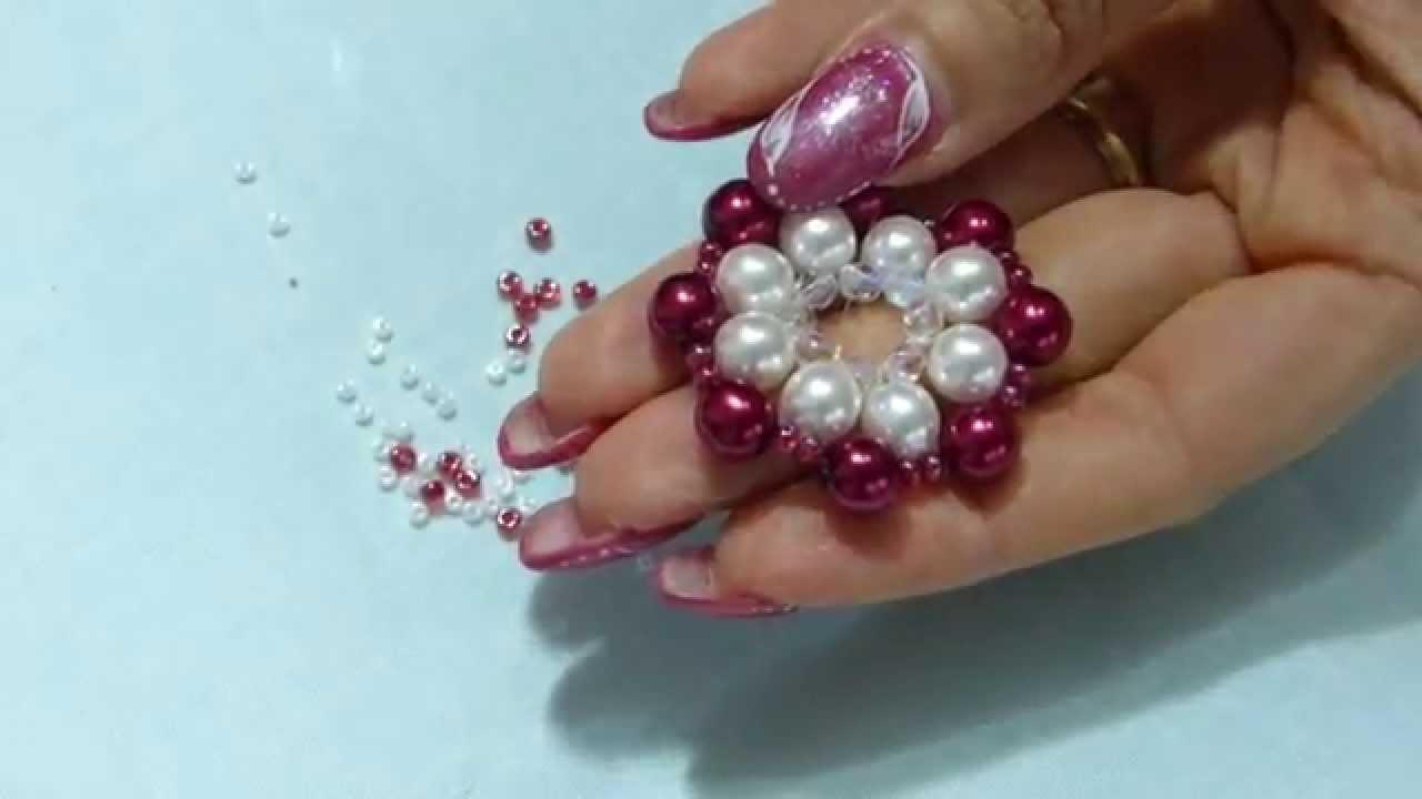 Diy tutorial collana fai da te ciondolo con perle e for Orecchini con pietre dure fai da te