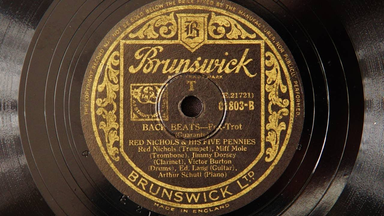 Red Nichols and His Five Pennies - Back Beats