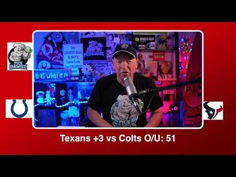 Houston Texans vs Indianapolis Colts 12/6/20 NFL Pick and Prediction Sunday Week 13 NFL