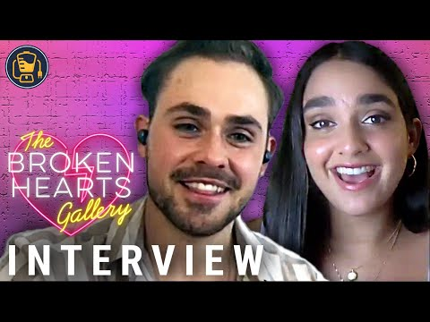 The Broken Hearts Gallery Interviews with Dacre Montgomery, Geraldine Viswanathan & Natalie Krinsky