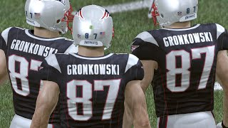 99 OVERALL Rob Gronkowski AT EVERY POSITION WTF! Madden 16 Ultimate Team Gameplay