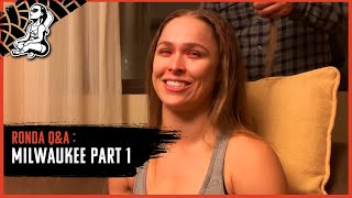 Ronda Rousey Q&A (Part 1): Discussing What It Means To Be A Champion