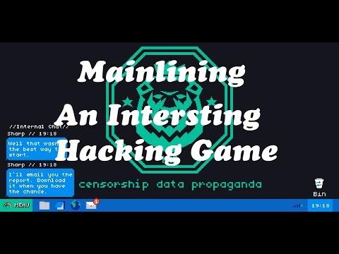 Hacking Game That is Insane   Mainlining  