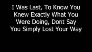 KELLY CLARKSON LYRICS for Never Again (onscreen text)