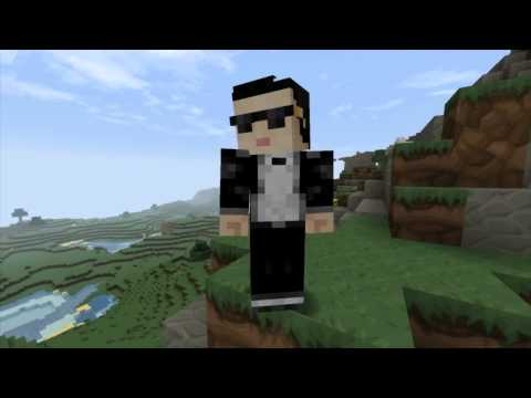 "Watch ""Minecraft PSY - GANGNAM STYLE (강남스타일)"" on YouTube"