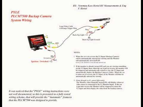 PYLE PLCM7500 Wiring  YouTube
