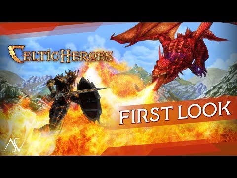Celtic Heroes - 3D MMORPG (Android/iOS) - First Look Gameplay!