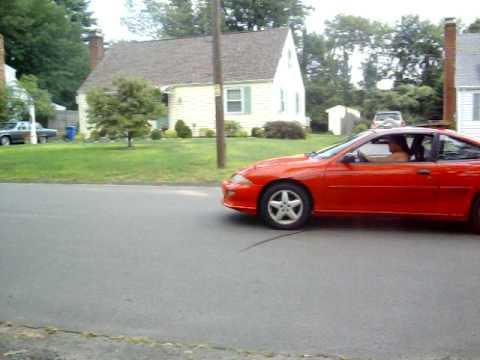 1999 Chevy Cavalier Z24 5speed Runstock W Muffler Tip