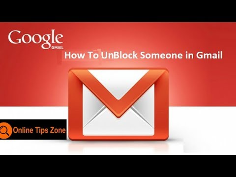 How to Unblock  Email Addresses in Gmail