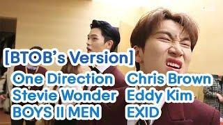 원래 노래와 비투비의 버전의 차이 2탄 (Original Song vs BTOB's Version Part 2)