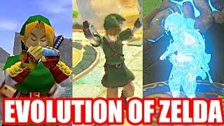Evolution of Warping/Teleporting in The Legend of Zelda Series