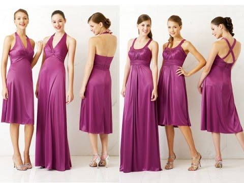 f08d2f1f37 Top 100 Most beautiful purple party dresses for women - YouTube