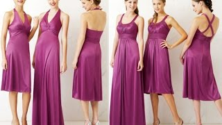 Top 100 Most beautiful purple party dresses for women