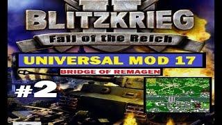 blitzkrieg 2 universal mod 17 bridge of remagen 3005 1038 k d 2 3
