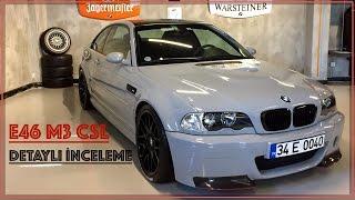BMW E46 M3 CSL Detaylı İnceleme (W/Subtitles)