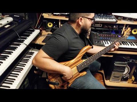 Luz Y Sal - Funky Bass Cover (Ken Smith Bass)