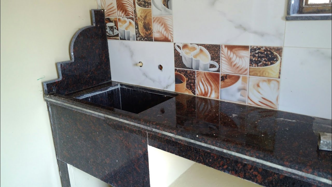 Granite Marble Kitchen Platform And Tiles Youtube