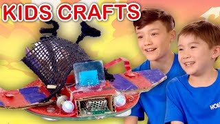 Make a Toy Race Car!  | KIDS CRAFTS | Universal Kids