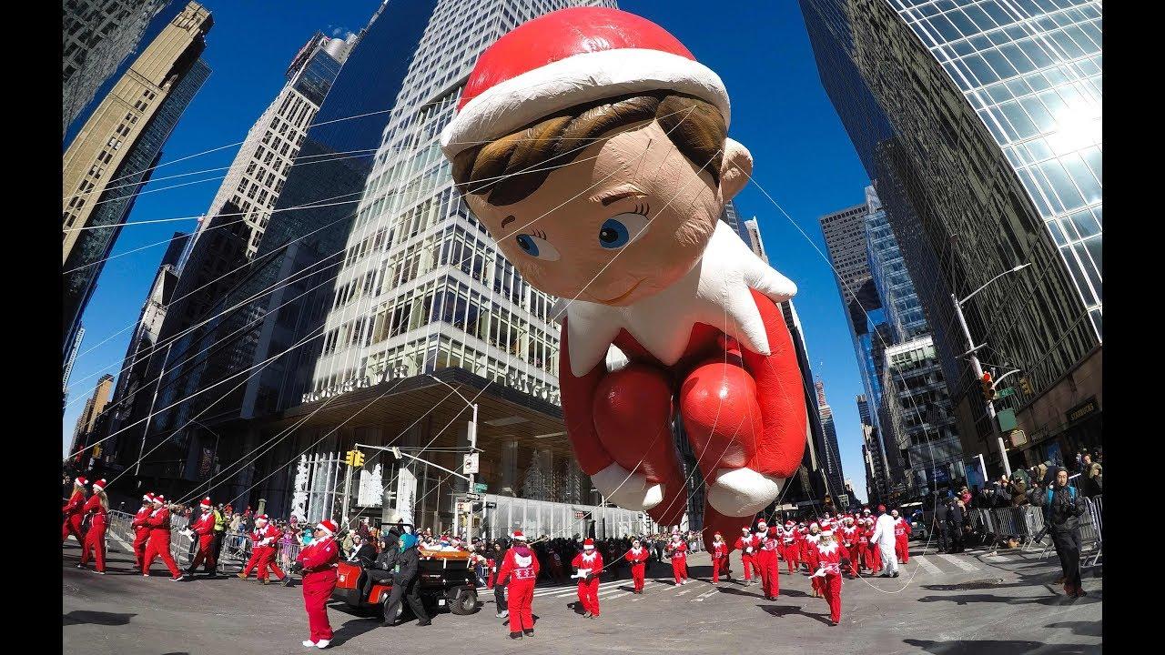 MACY'S PARADE: Mit Riesen-Ballons beginnt in New York die Weihnachtszeit
