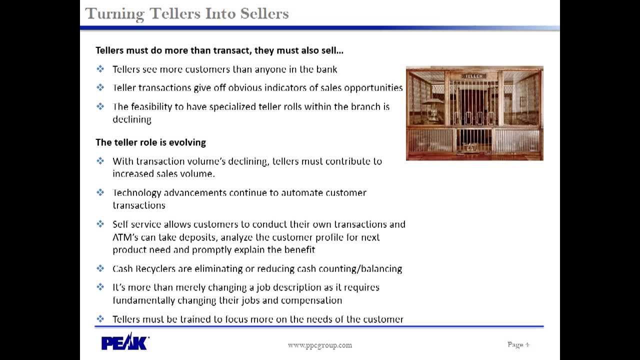 Turn Tellers Into Sellers Youtube