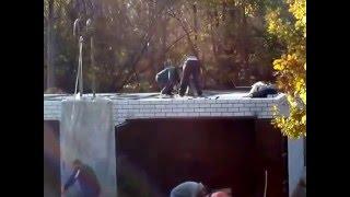 Бетонная стяжка на крыше(, 2016-04-15T05:09:26.000Z)