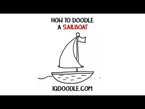 How to Draw a Sailboat (drawing tips)