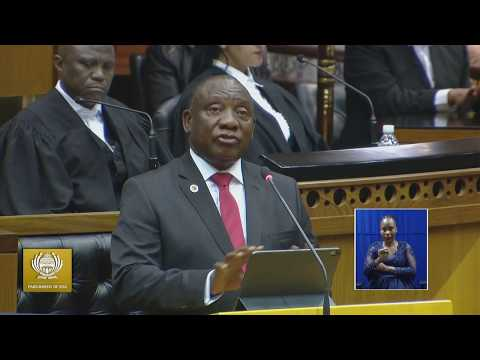 State of the Nation Address June 2019 National Assembly Chamber, 20 June 2019