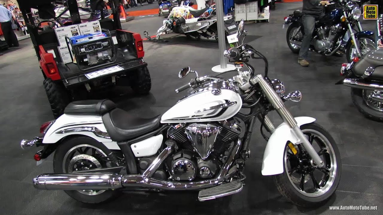 2013 Yamaha V-Star 950 - Walkaround - 2012 Toronto Motorcycle Show ...