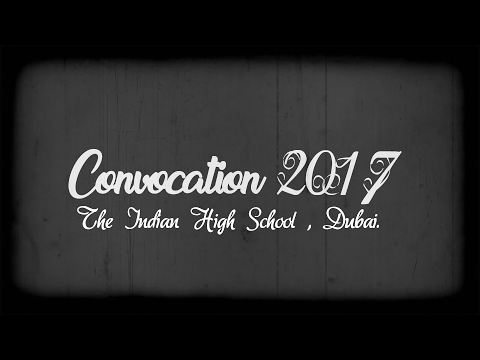 IHS Convocation 2017