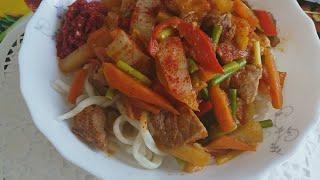 ЛАГМАН  блюдо Восточной кухни