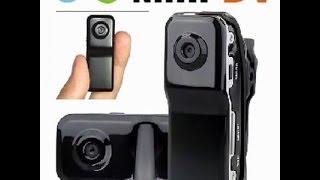 Mini Câmera filmadora MD 80 para Bike, Moto, Carro, Aeromodelo, Automodelismo - TIOCHICOSHOP
