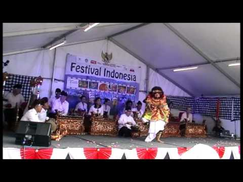 Balinese gamelan and dance performance Canberra 2016