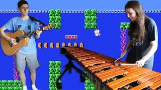 Underwater Theme Guitar/Marimba Cover - Super Mario Bros. 1