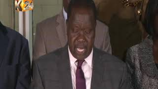 Fred Matiang'i on Riverside Attack