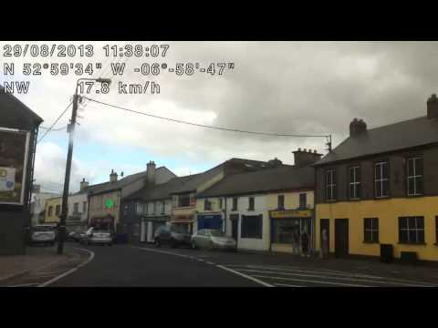 Driving Into Athy
