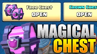 Get A MAGICAL CHEST With Chest Pattern! (Clash Royale Chest Pattern Method) Magical Chests Cycle!