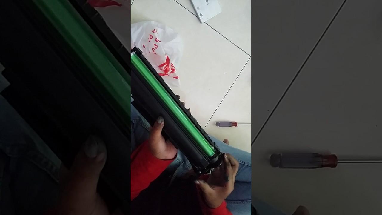 Cara Mengganti Drum HP 85 A HP LASERJET P1102