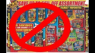 Why you should never buy a TNT Fireworks Assortment