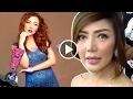 Gaya Sensual Bella Shofie di Depan Kamera - Cumicam 31 Januari 2017