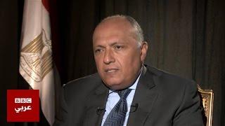 فيديو.. سامح شكري: السيسي يبذل مجهودًا كبيرًا لإقامة دولة فلسطينية