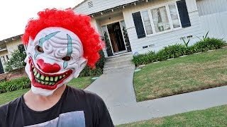 CREEPY KILLER CLOWN SCARE PRANK!