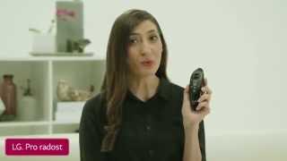 LG magický dálkový ovladač - LG Smart TV