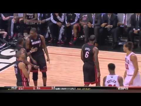 Chicago Bulls Joakim Noah trolling Chris Bosh and Mario Chalmers