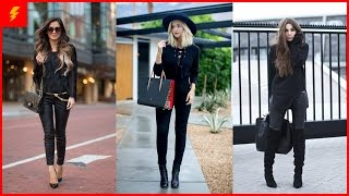 How to Wear All Black Outfit for This Season