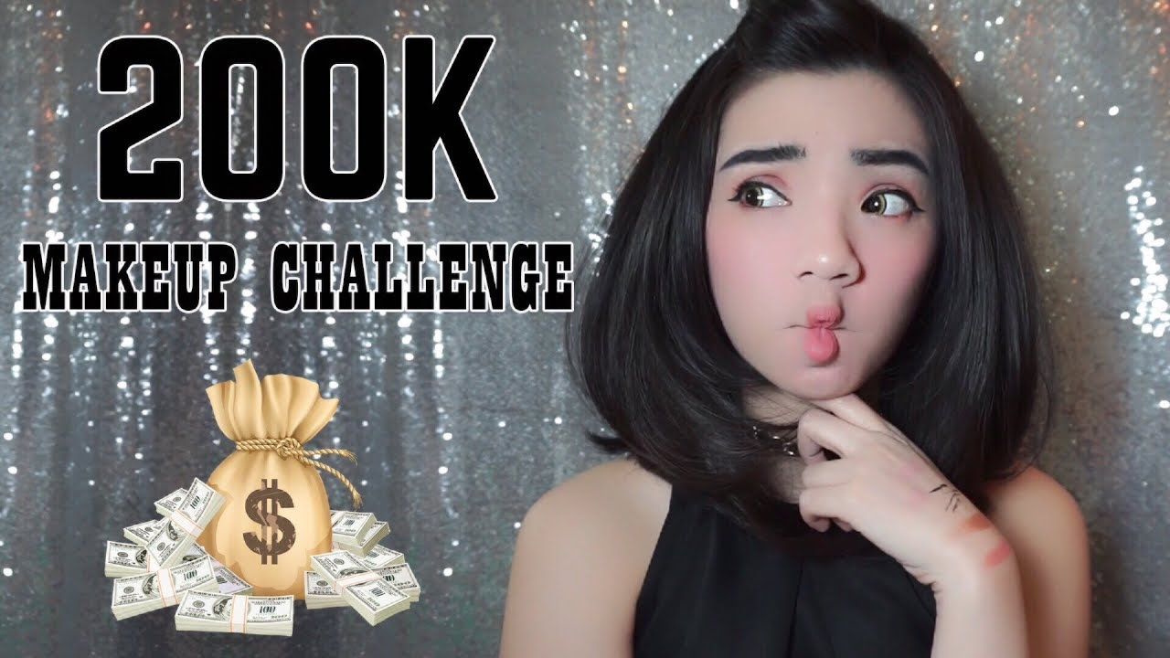 200k Makeup Challenge First Impressions Bahasa Indonesia The Penjepit Bulu Mata Fuanna Yolanda
