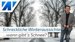 Schreckliche Winteraussichten! Und das Wetter von heute (20.11.2019)