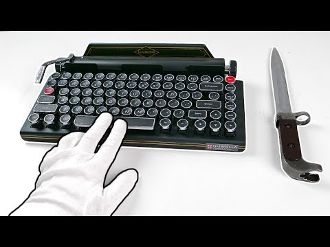 """$900 Resident Evil 2 Premium Edition """"TYPEWRITER"""" Unboxing (SOLD OUT) Biohazard 2 RE:2 Z Version"""